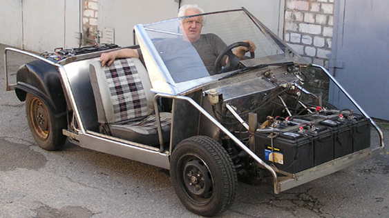 Электромобиль с нуля своими руками