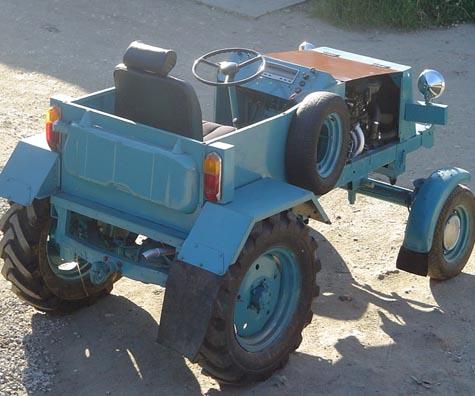 Создать трактор своими руками
