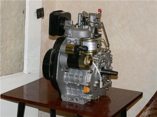 Дизельный двигатель своими руками фото